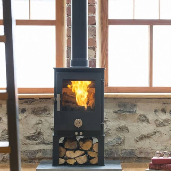 Chilli Penguin SHORT Wood Stove