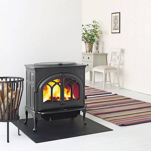Jotul F600 wood burning
