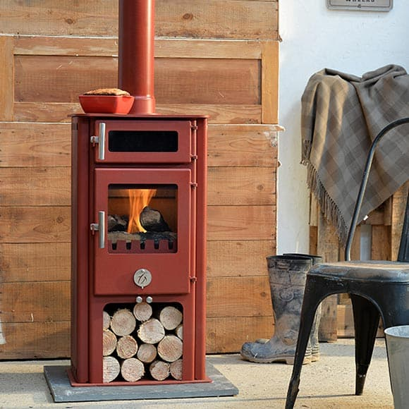 Chilli Penguin HIGH & MIGHTY Wood Stove