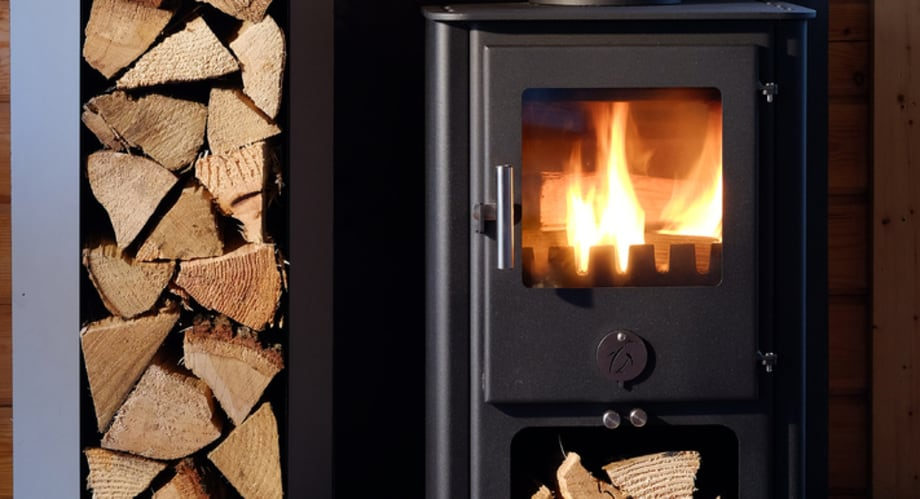 The Chubby Penguin wood stoves