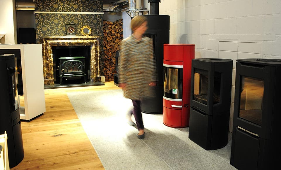 Wedron Stoves Showroom