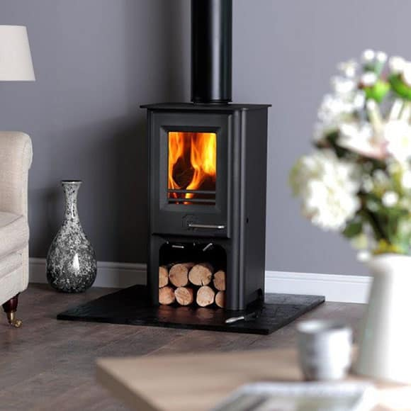 The Phoenix Firewren Convector Tall 4kW
