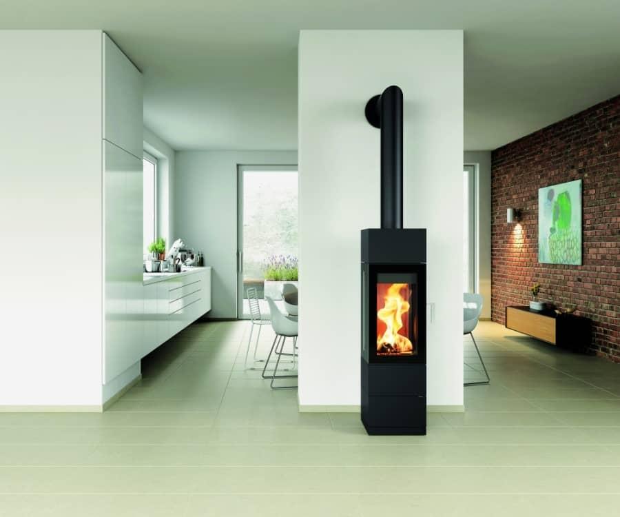 Cast iron stove Contura 51L
