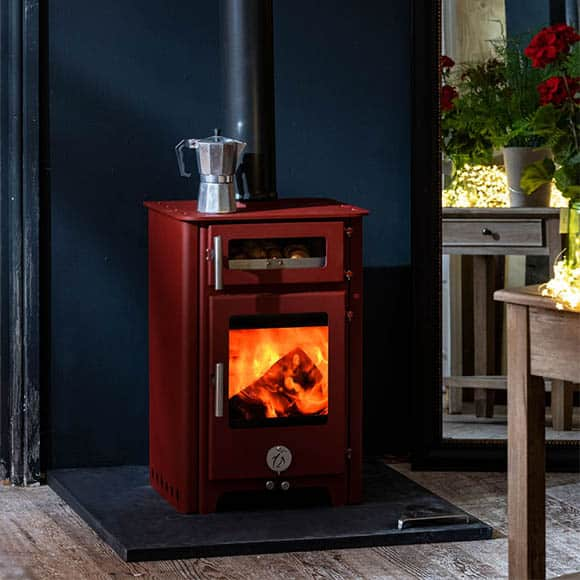 Chilli Penguin FAT Wood Stove